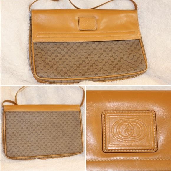 Gucci Handbags - Vintage Gucci Convertible Clutch